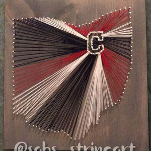 Other - Cleveland Indians string art